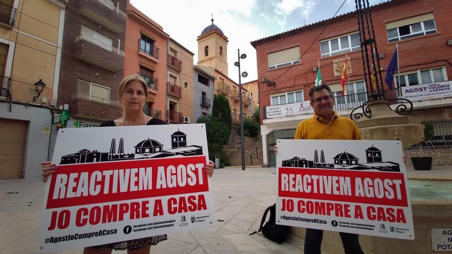 Agost lanza una campaña para reactivar la economía local implicando a los vecinos