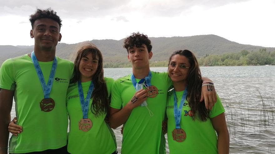 Un oro y dos bronces para el CT Elche en el Nacional de natación de aguas abiertas