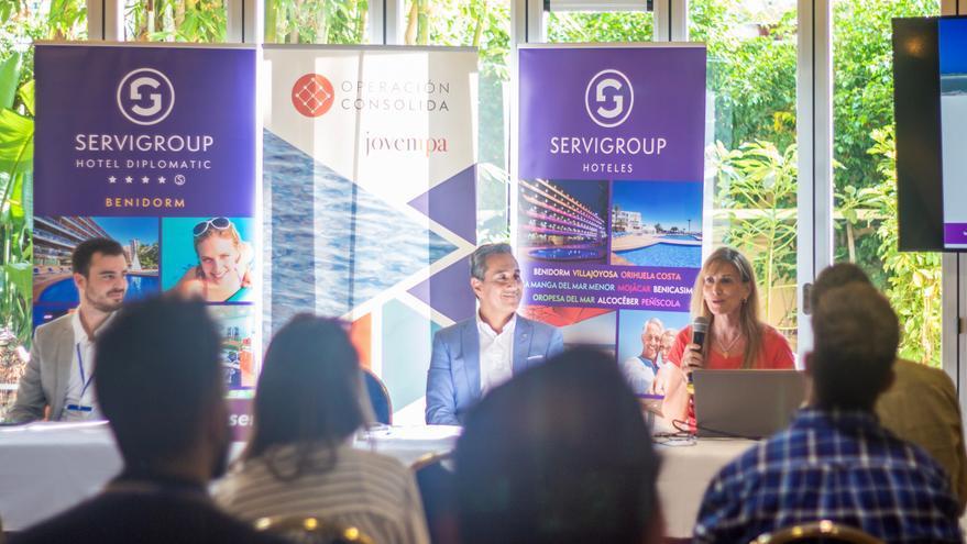 Treinta empresarios jóvenes conocen los sistemas de comercialización y márketing de Servigroup