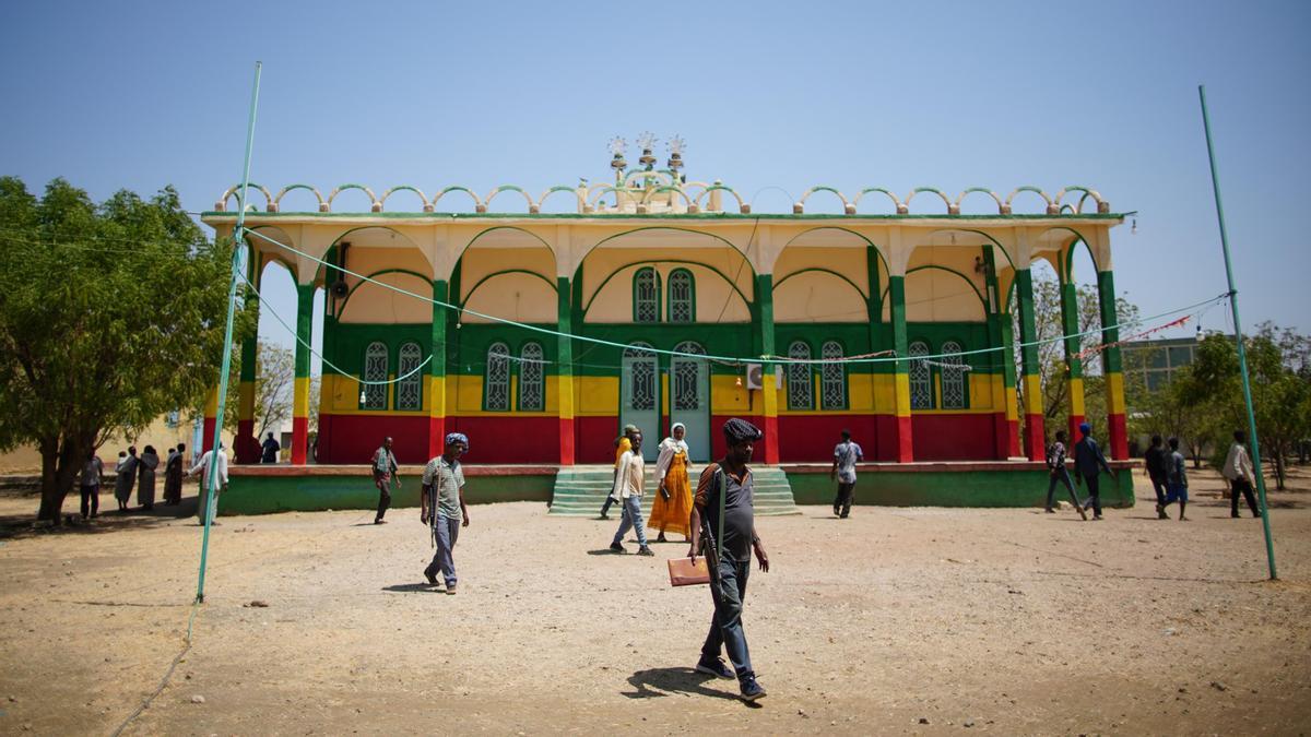 Un militar en Etiopía