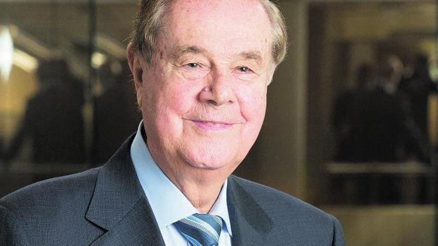 Gabriel Escarrer Juliá, presidente no ejecutivo y fundador de Meliá Hotels International.    MELIÁ