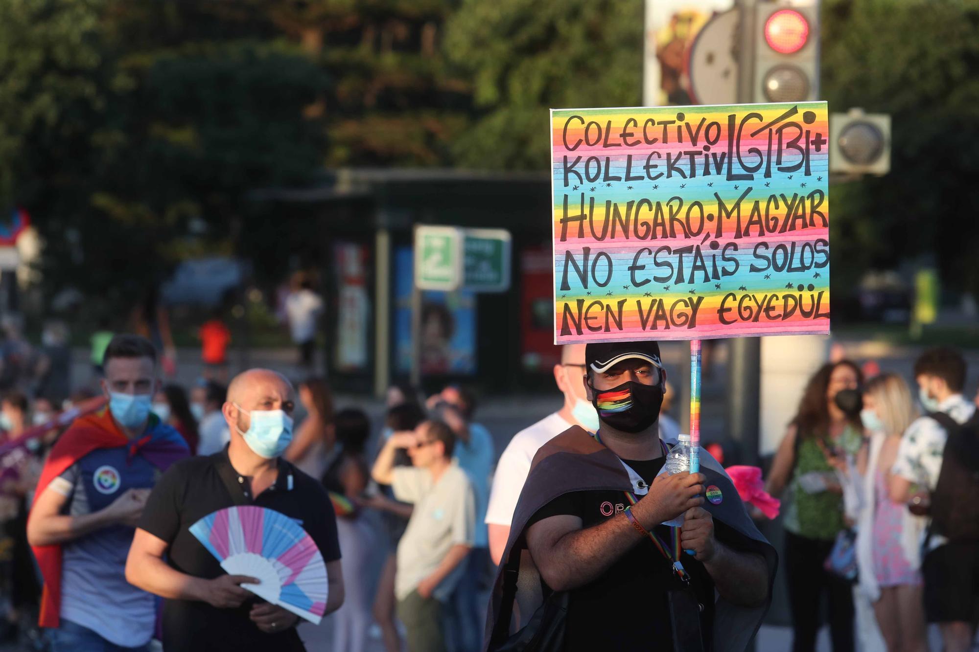 El dia del Orgullo LGTBI+ en València, fue una fiesta