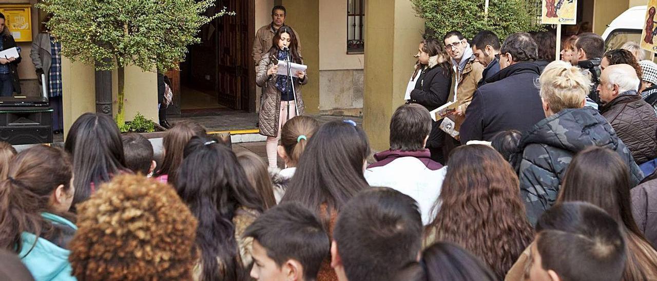 Un acto organizado por Intervalo, en una imagen de archivo. | Fernando Rodríguez