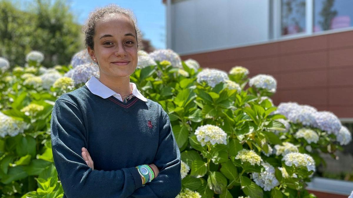 Carmen Romano, alumna de 4º de ESO de Las Acacias.