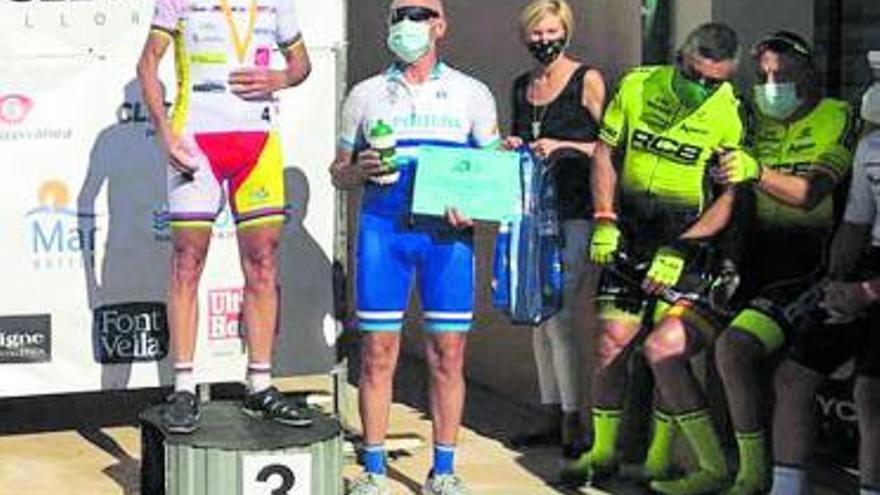Amador Jodar acaba quinto en la Copa de Europa M65 de ciclismo