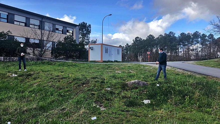 Cubela proyecta un aparcamiento junto al instituto de Tenorio y ampliar la senda