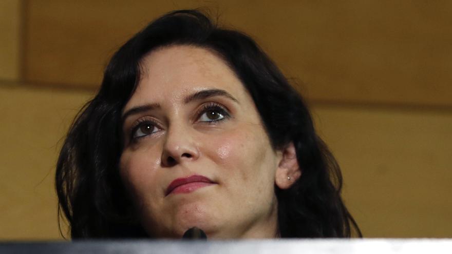 Debate de investidura de Isabel Díaz Ayuso