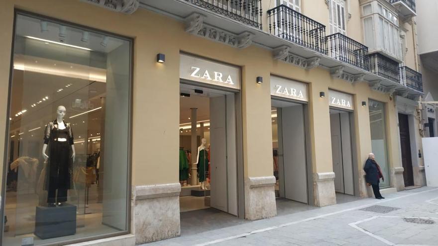 Inditex cerrará 19 tiendas en Andalucía, dos de ellas en Málaga