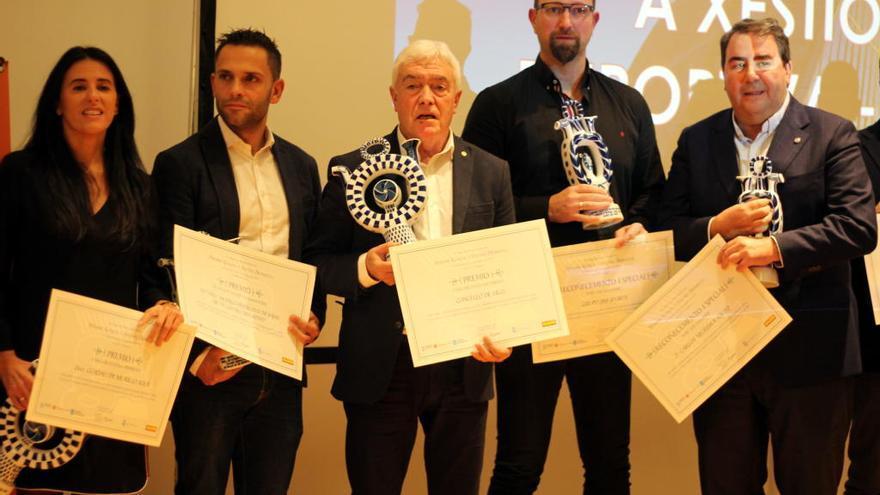 Premio al Concello de Vigo en materia deportiva