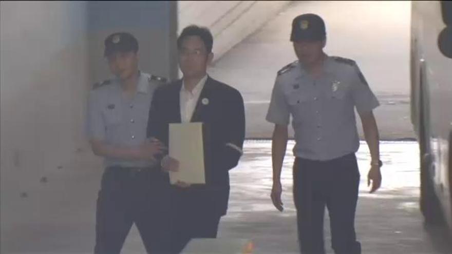 El heredero de Samsung, condenado a cinco años de cárcel por el caso Rasputina