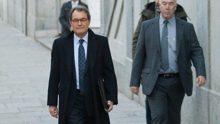 Comença la declaració d'Artur Mas al Suprem davant del jutge Llarena