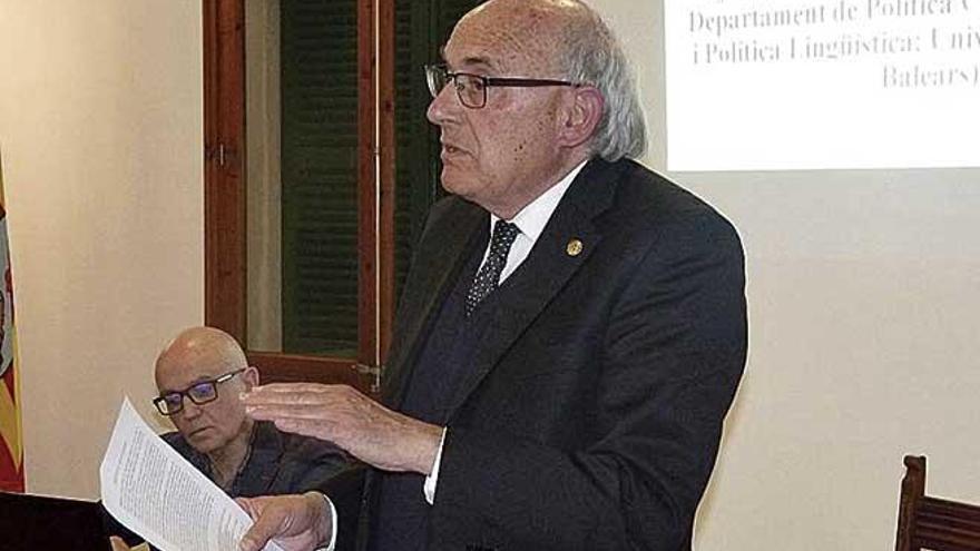 Joan Miralles presenta 'L'art del picapedrer' en Montuïri