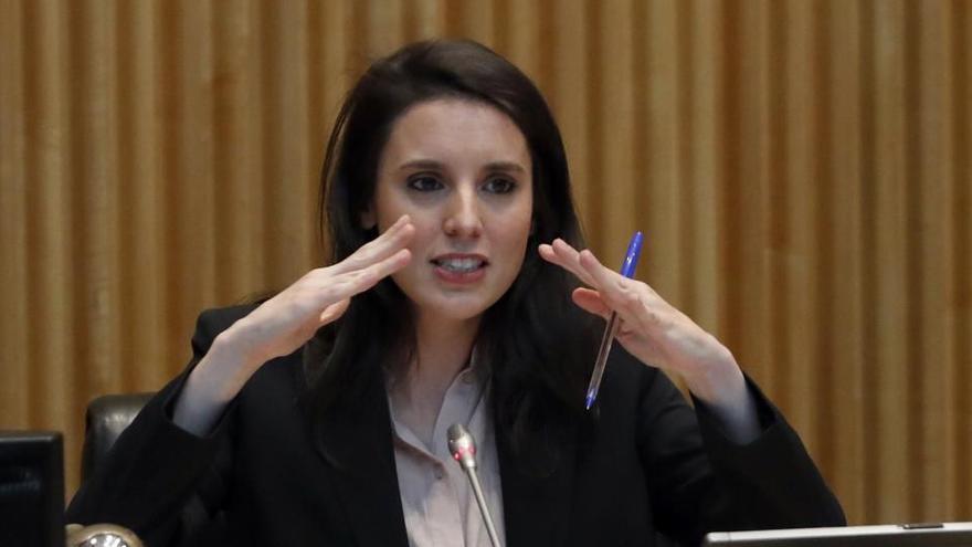 Irene Montero también prevé escraches contra Casado o Abascal