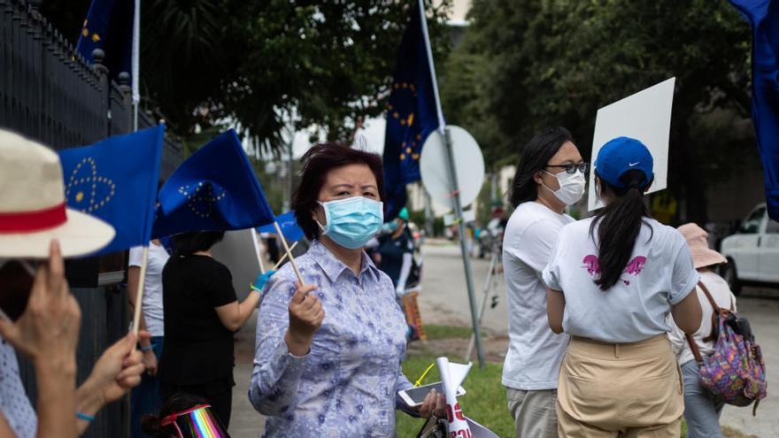 El consulado chino en Houston hace las maletas entre ecos de 'Guerra Fría'