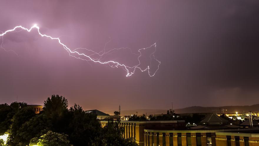 Aviso amarillo por tormentas y granizo en el norte de Castilla y León