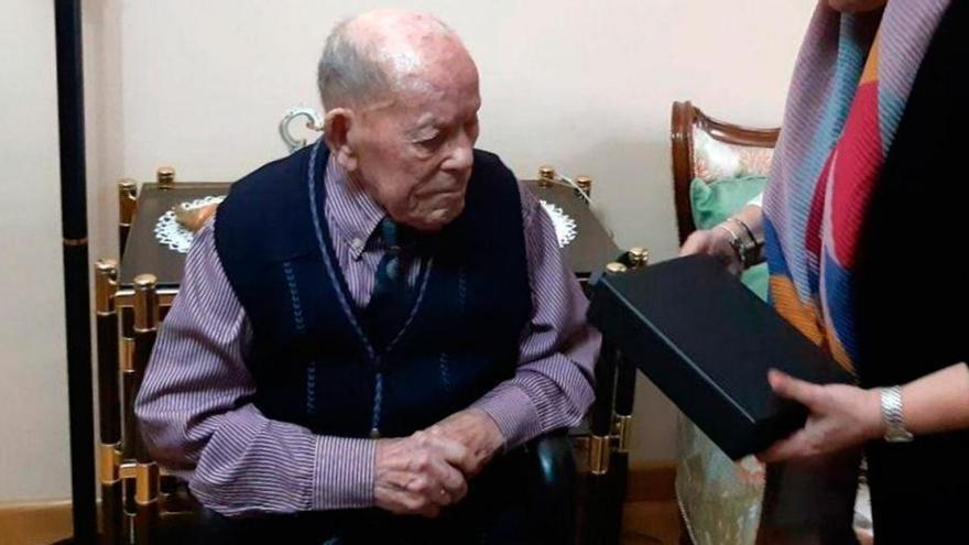 Un hombre leonés de 112 años se convierte en el más longevo del mundo