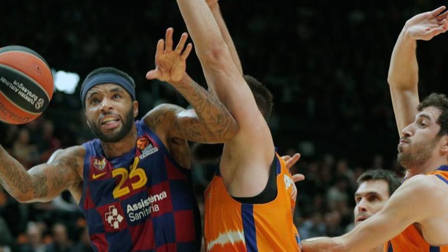 Copa del Rey: Barcelona - Valencia Basket, en directo