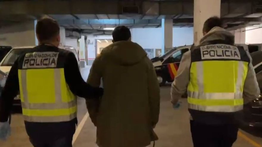 Detenido el hombre buscado por dar una paliza a su novia menor de edad en El Palo