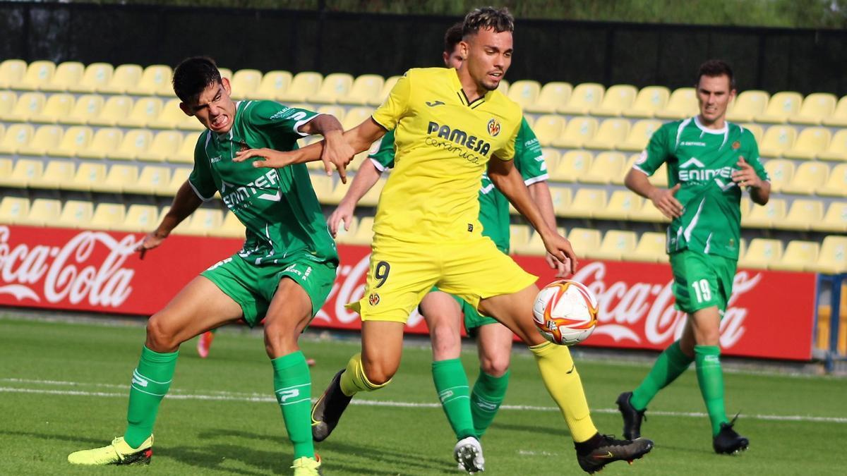 Arana, autor de dos goles frente al Cornellá la pasada jornada.