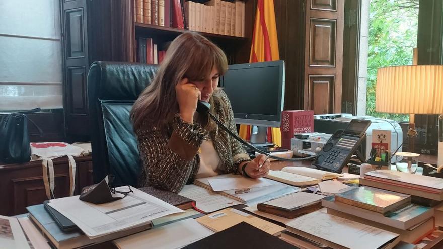 Última reunió del Govern en funcions abans de la investidura d'Aragonès