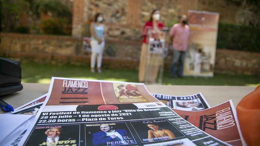 Brozas se viste de jazz y flamenco con su festival