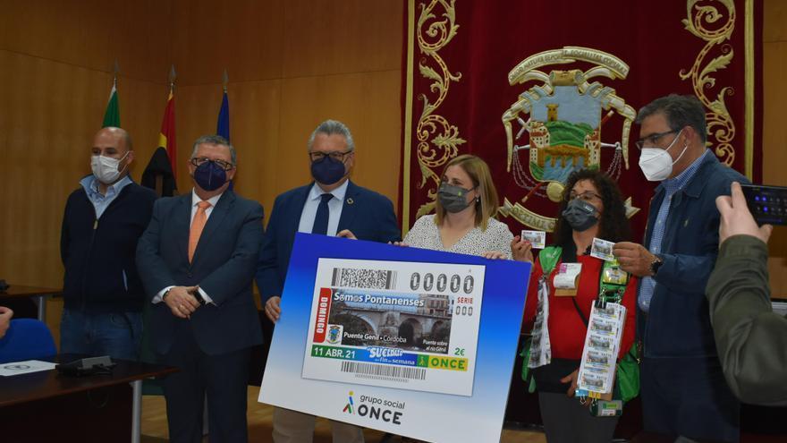 El cupón de la ONCE del 11 de abril estará dedicado a Puente Genil