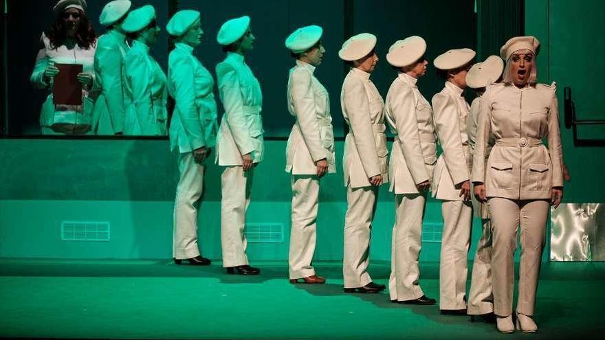 La TVG emite el estreno televisivo de la ópera gallega 'A amnesia de Clío'