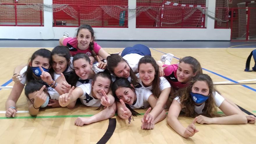 El Academia Voleibol Córdoba conquista tres coronas provinciales