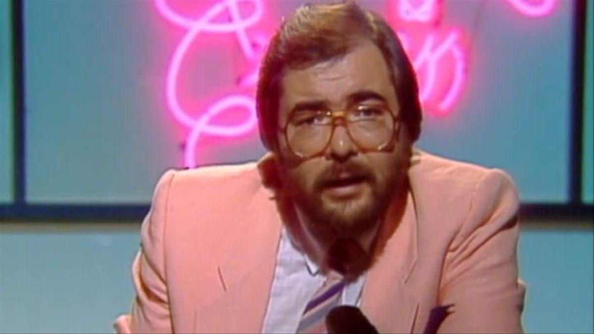 Ángel Casas en los 80.