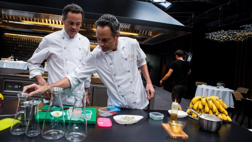 Els germans Torres investiguen nous usos culinaris dels plàtans