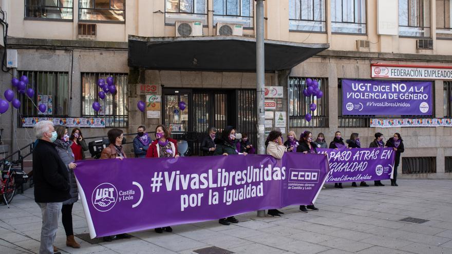 VÍDEO | Los sindicatos salen a la calle por el 8M en Zamora