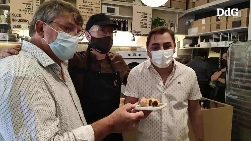 Jordi Roca i Can Castelló, units per crear el «Xuixo Casa Cacao»