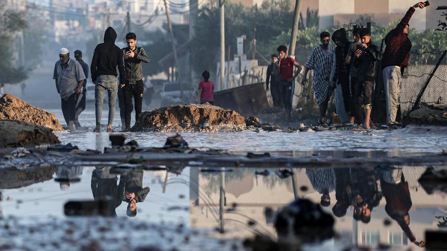 Israel ataca más objetivos subterráneos e infraestructuras de Hamás en la Franja de Gaza