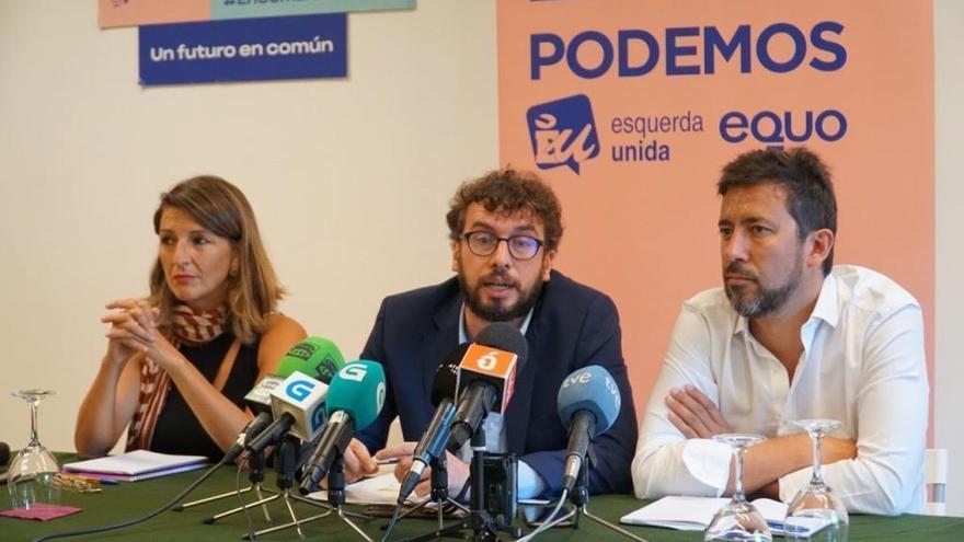 """El senador Sande dice que será la """"representación de Galicia"""" porque PP y PSOE """"tienen sumisión territorial"""""""