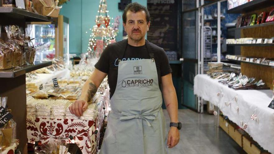 Luis Paracuellos: «Los turrones artesanos son un postre saludable»