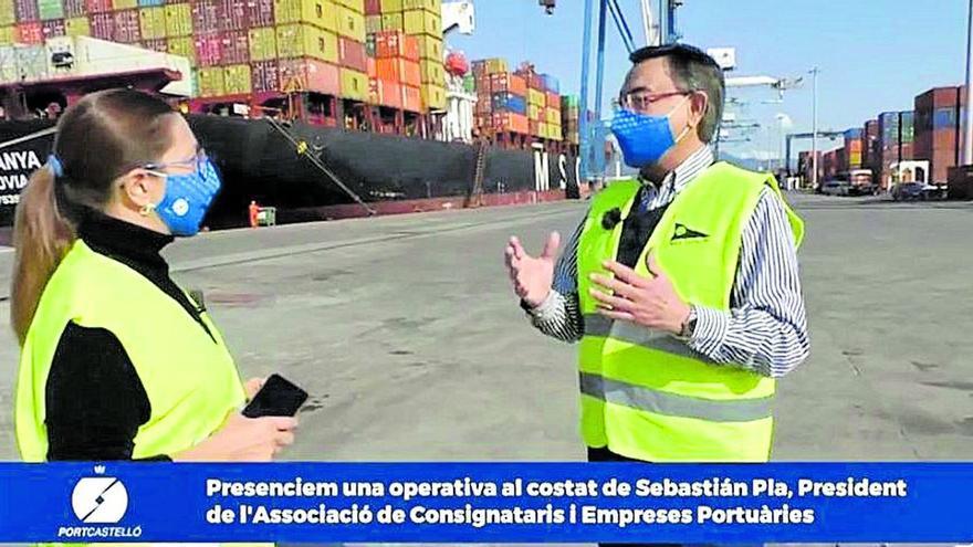 Medi TV acerca el Puerto de Castellón al telespectador