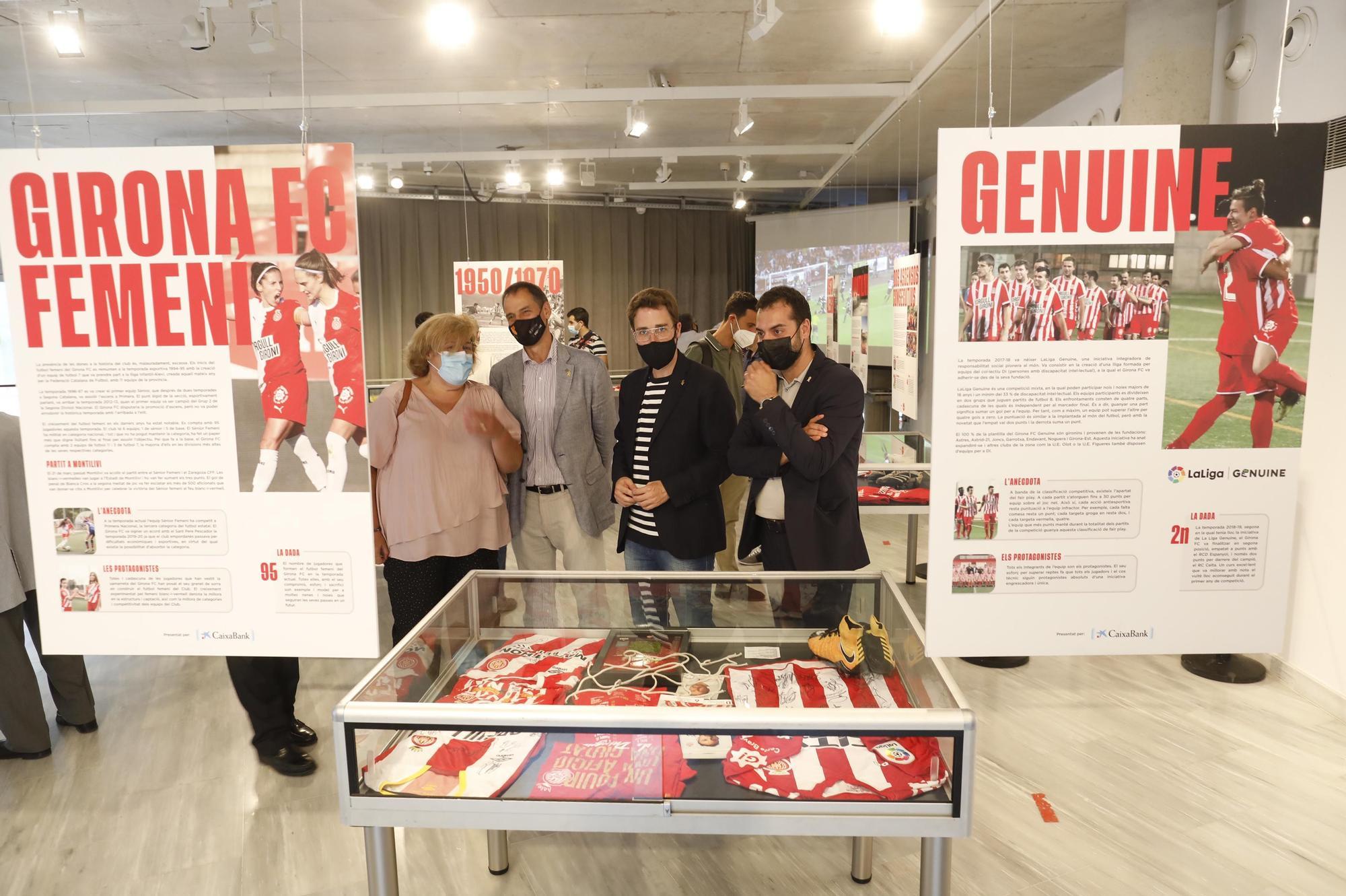 Exposició dels 90 anys d'història del Girona FC