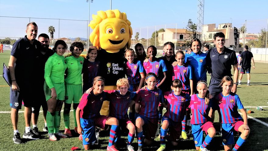 Barça, Atlético  y Helsinki, vencedoras de la III East Mallorca Girls Cup