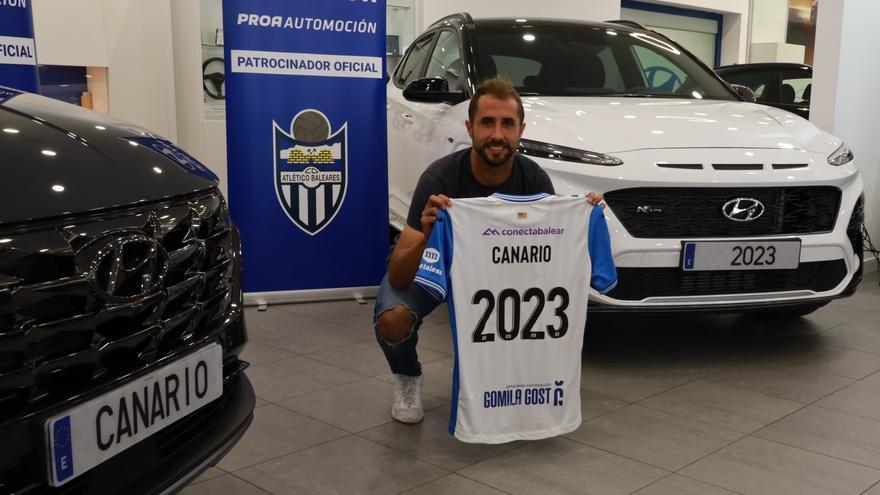 Canario: «Que el Baleares me ofreciera dos años fue una sorpresa»