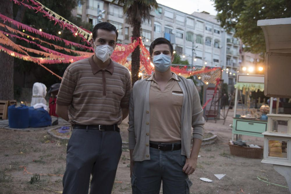 «Hache» acaba el rodatge a Manresa amb una festa major