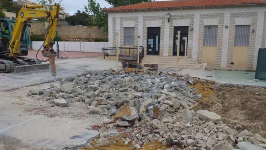 Educación inicia la ampliación del colegio de Aigües con una inversión de 750.000 euros