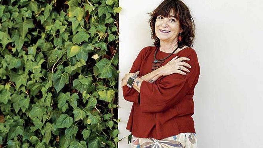 """Rosa Montero: """"En cada vida hay varias vidas, yo voy por la cuarta"""""""