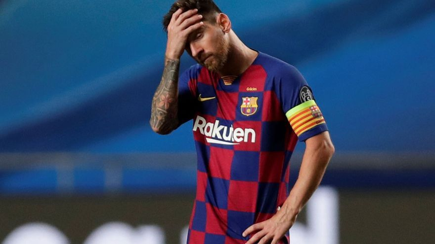 Leo Messi se marcha del FC Barcelona