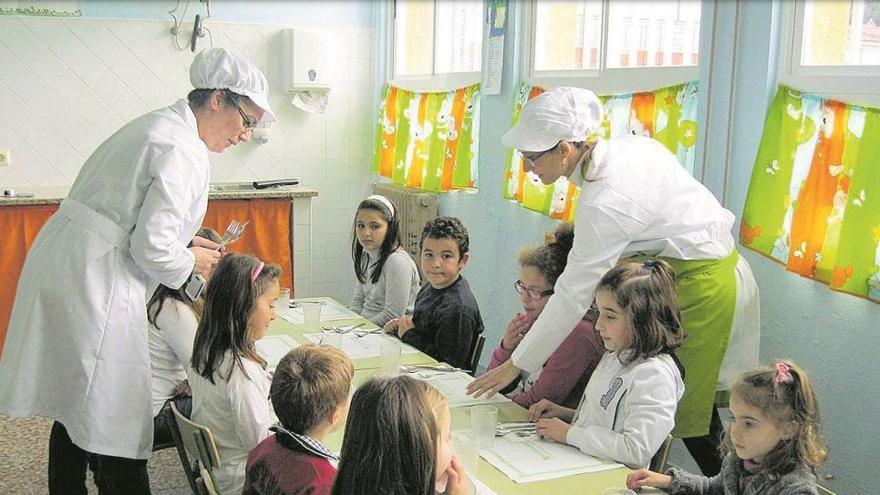 Educación dedica 73,4 millones a las ayudas de comedor del próximo curso