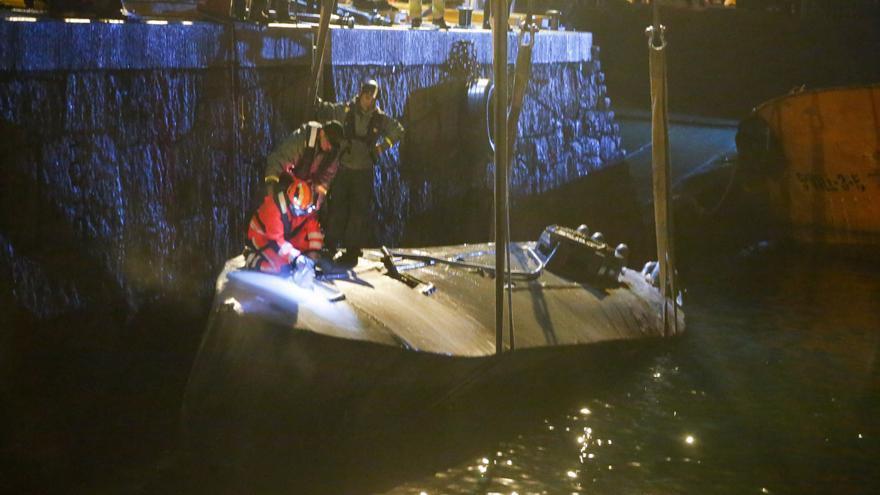¿Volverá el narcosubmarino a las aguas de Aldán?