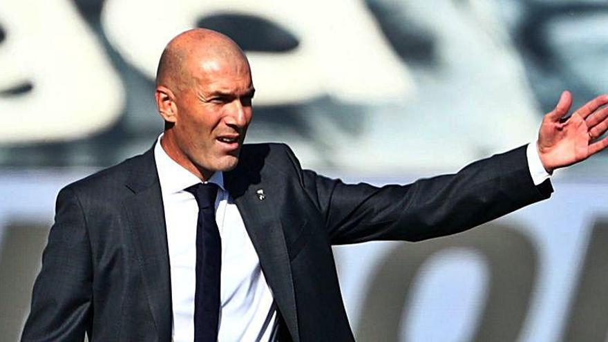 Zidane abandonará el Real Madrid