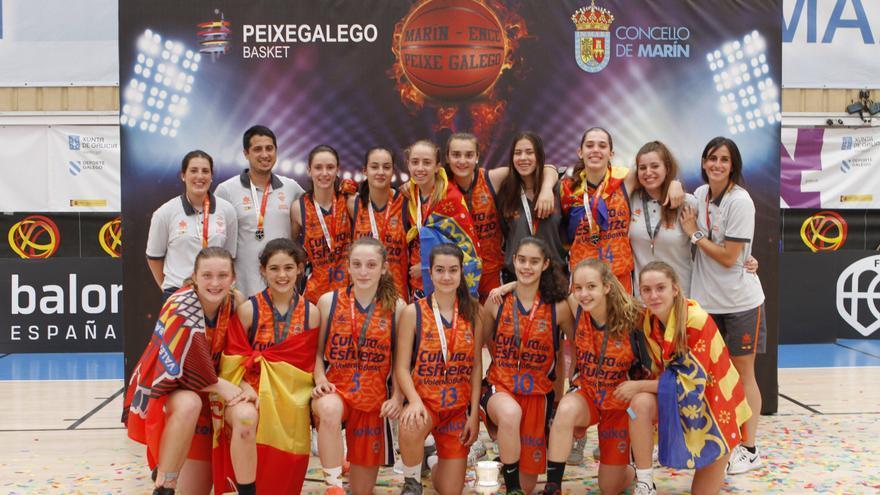 El Valencia Basket infantil femenino, subcampeón de España