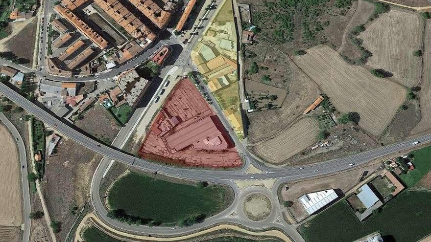 Benavente | Luz verde al desarrollo comercial con zona de parking en la salida a la N-525