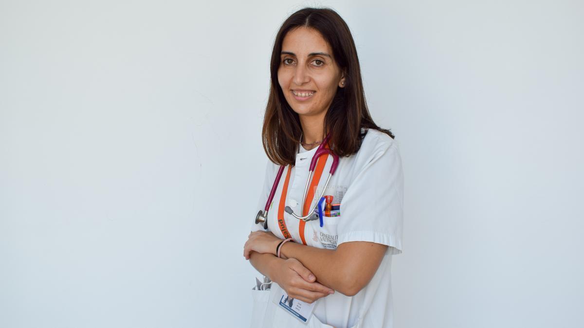 La cardióloga del hospital de Dénia Julia Seller.