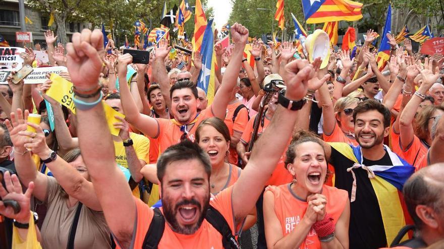 Manifestació de la Diada de l'11 de setembre a Barcelona, horari i recorregut